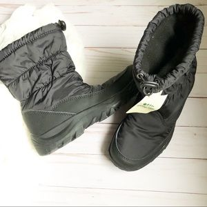 Women's Black Spring Step Winter Boots